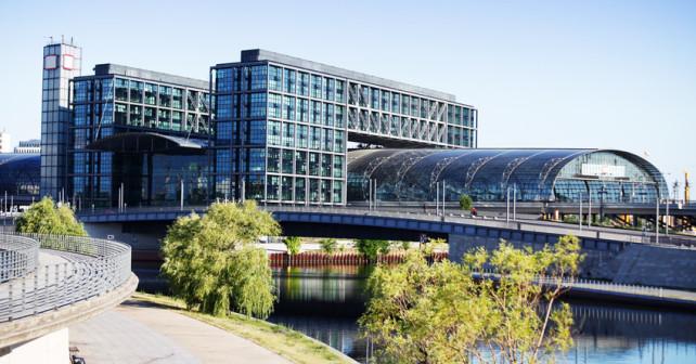 Außenansicht des Berliner Hauptbahnhof
