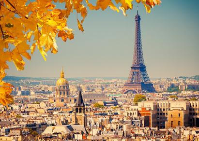 Paris im Herbst