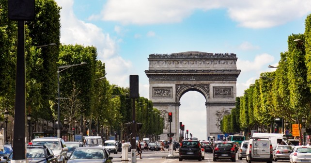 Arc de Triumph in Paris