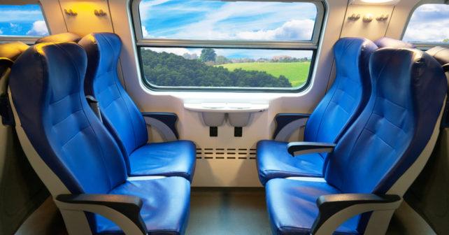Bahn Sitzplatz Abteil