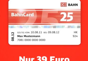 bahncard ticket für 2 personen