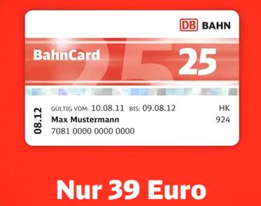 bahncard billiger