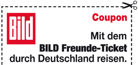 Der Freunde Ticket Coupon