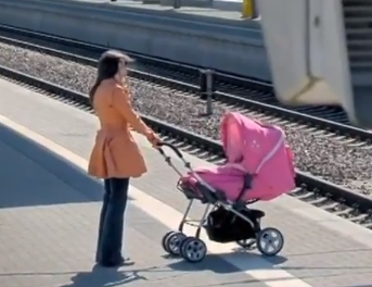 Bahn Kampagne - Wir wollen, dass du sicher ankommst