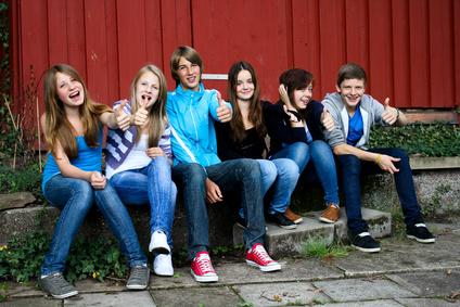 Gruppenreise mit Jugendlichen