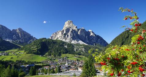 Panorama von Bozen Südtirol