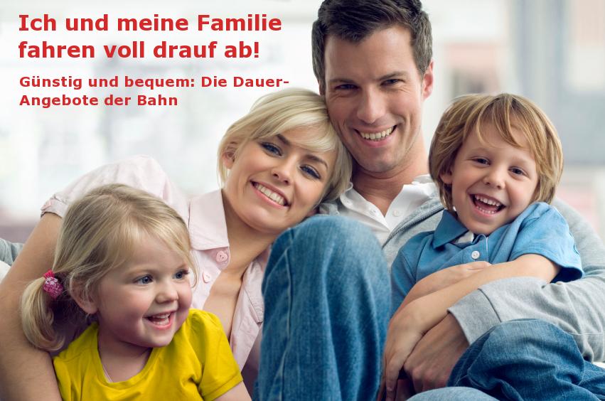 Vater, Mutter und 2 Kinder
