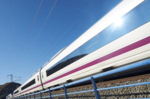 Bahn nach Hamburg