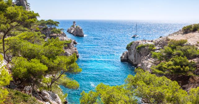 Meeresbucht von Marseille - Südfrankreich